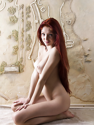 Showy Beauty  Red Fox  Skinny, Tits, Breasts, Boobs, Big tits, Red Heads, Striptease