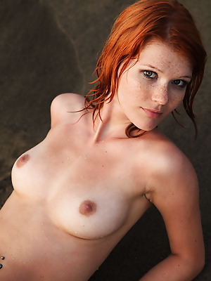 Errotica-Archives  Mia Sollis  Softcore, Beach, Red Heads, Erotic