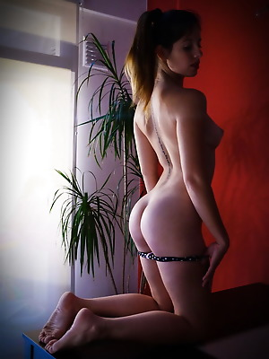 The Life Erotic  Ivonne A  Ass, Pussy, Beautiful, Cute, Erotic, Softcore, Lingerie, Striptease